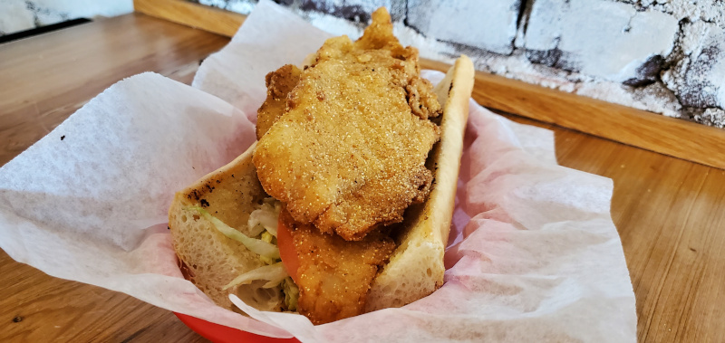 Flounder Sandwich, Sandwiches